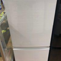 2017年製 シャープ 2ドア冷凍冷蔵庫 SJ-D14C-W