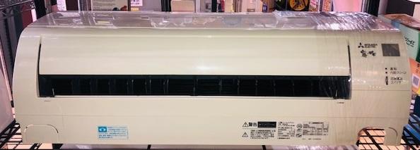 2017年製 三菱 霧ヶ峰 ルームエアコン MSZ-GV2817-W