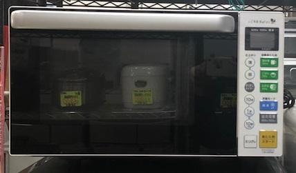 2017年製 ヤマダ電機 電子レンジ YMW-S18B1