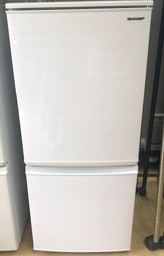 2020年製 シャープ 2ドア冷凍冷蔵庫 SJ-D14F-W