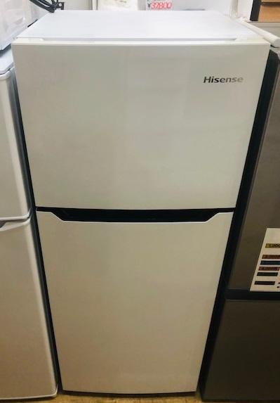 2018年製 ハイセンス 2ドア冷凍冷蔵庫 HR-B1201