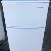 2017年製 ヤマダ電機 2ドア冷凍冷蔵庫 YRZ-C09B1