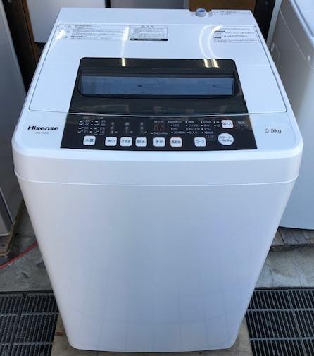 2016年製 ハイセンス 全自動洗濯機 HW-T55A