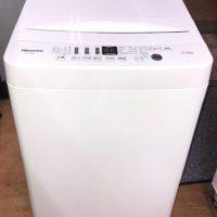 2019年製 ハイセンス 全自動洗濯機 HW-T55D