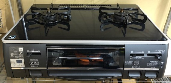 2012年製 パロマ プロパンガステーブル PAーN308WCK-3R