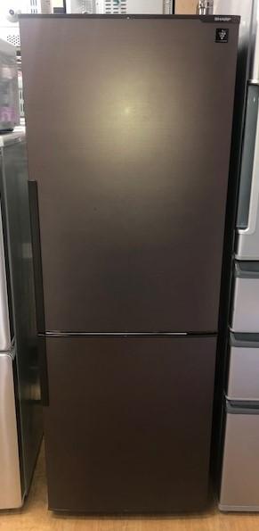 2017年製 シャープ 2ドア冷凍冷蔵庫 SJ-PD27C-T