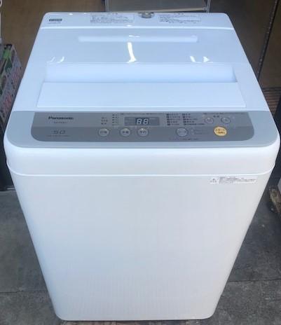 2017年製 パナソニック 全自動洗濯機 NA-F50B11