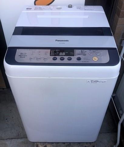 2014年製 パナソニック 全自動洗濯機 NA-F60PB7