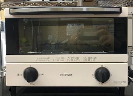 2020年製 アイリスオーヤマ オーブントースター EOT-012-W