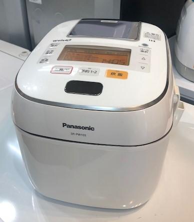 2016年製 パナソニック 可変圧力IHジャー炊飯器 SR-PW105