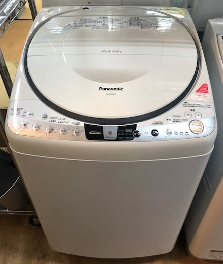 2016年製 パナソニック 電気洗濯乾燥機 NA-FR80H9