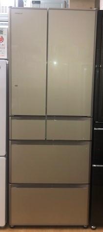 2016年製 日立 6ドア冷凍冷蔵庫 R-G5200F(XN)