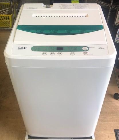 2018年製 ヤマダ電機 全自動洗濯機 YWM-T45A1