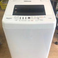 2019年製 ハイセンス 全自動洗濯機 HW-E4502