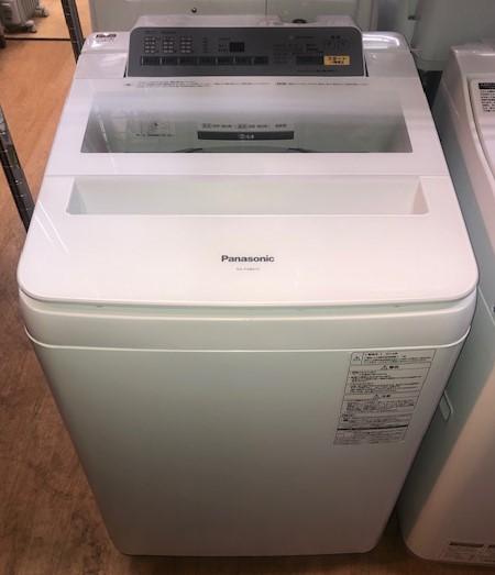 2016年製 パナソニック 全自動洗濯機 NA-FA80H3