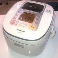 2017年製 パナソニック IHジャー炊飯器 SR-HB106