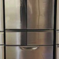 2014年製 三菱 6ドア冷凍冷蔵庫 MR-JX53X-N1