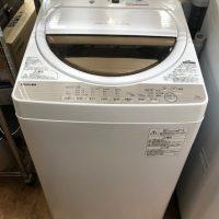 2017年製 東芝 全自動洗濯機 AW-6G5
