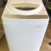 2016年製 東芝 全自動洗濯機 AW-5G3