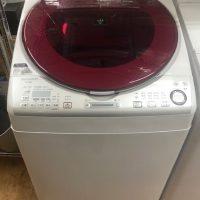 2015年製 シャープ 全自動洗濯乾燥機 ES-TX840-R