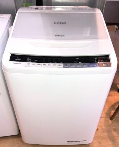 2016年製 日立 全自動洗濯機 BW-V80A