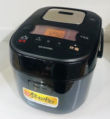 2020年製 アイリスオーヤマ IHジャー炊飯器 BLRC-IE30-B