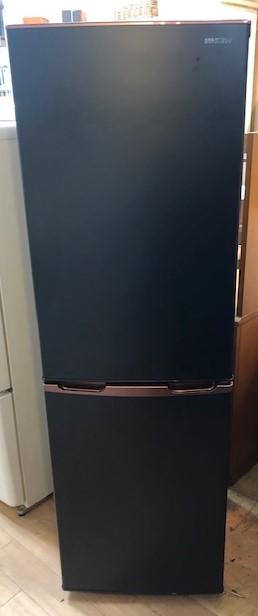 2019年製 アイリスオーヤマ 2ドア冷凍冷蔵庫 IRSE-H16A-B