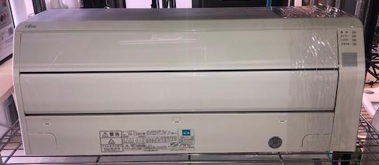 2018年製 富士通 ルームエアコン AS-C22H-W