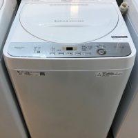 2019年製 シャープ 全自動洗濯機 ES-GE5C-W