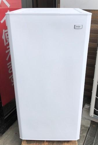 2015年製 ハイアール 1ドア冷凍庫 JF-NU100G