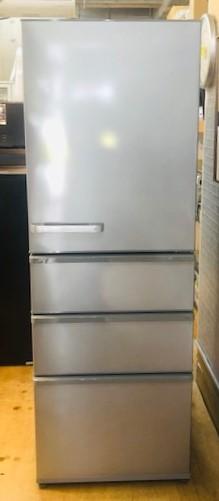 2018年製 アクア 4ドア冷凍冷蔵庫 AQR-36G2(S)