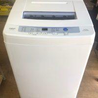 2017年製 アクア 全自動洗濯機 AQW-S60E