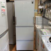 シャープ 両開き冷凍冷蔵庫 2021年 SJ-GW35G-W