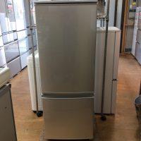 シャープ 2ドア冷凍冷蔵庫 2017年製 SJ-D17C-S