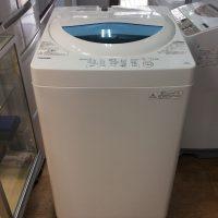 東芝 洗濯機 5Kg 2017年 AW-5G5