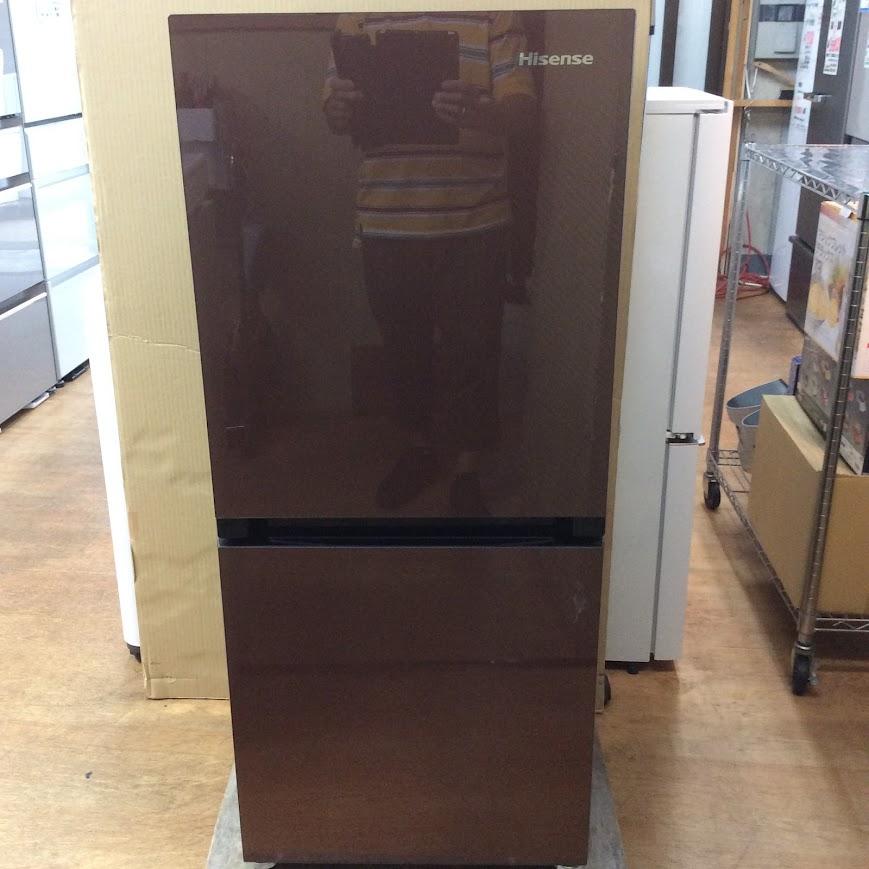 ハイセンス 2ドア冷凍冷蔵庫 2019年製 HR-G13A-BR