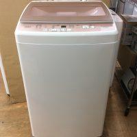 洗濯機 2019年製 AQUA 7kg AQW-KSGP7G