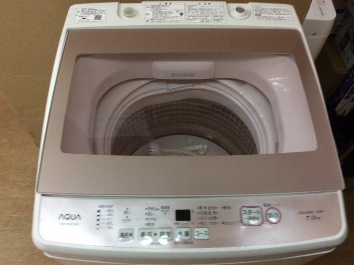 AQUA 洗濯 AQUA 洗濯機 AQW-KSGP7Gの販売